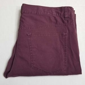 H&M Maroon Slim Fit jeans W34 - Button Fly